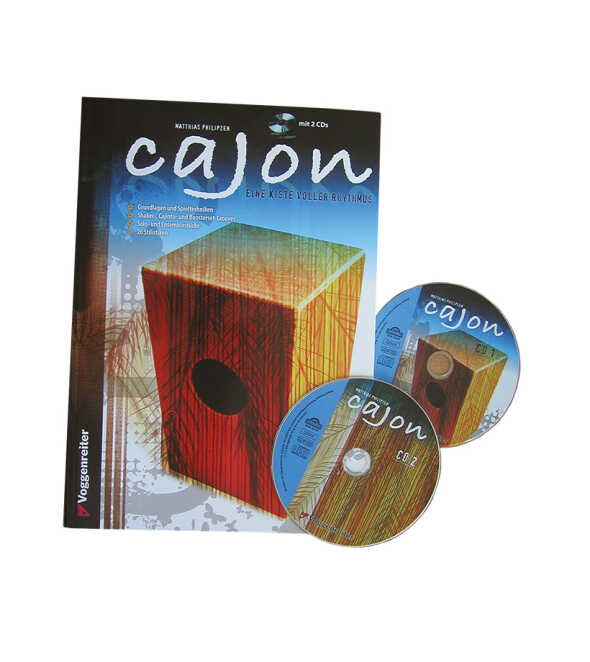 Cajon A Box Full of Rhythm! English Edition  Book//CD Set